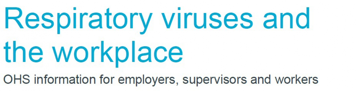 Respiratory viruses and the workplace