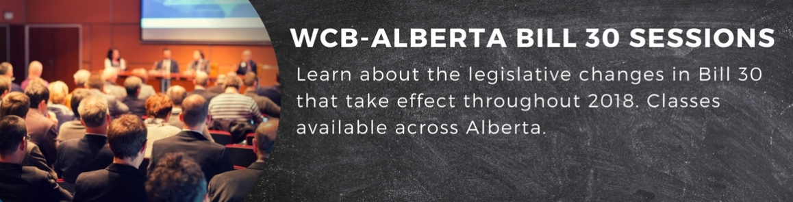 New: Bill 30 WCB changes seminar