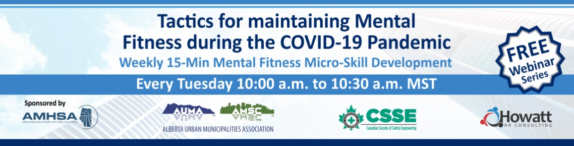 Free Webinar on how to Maintain Mental Fitness During COVID-19